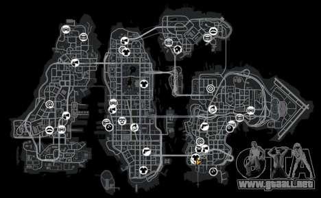 Garaje para GTA 4 quinta pantalla