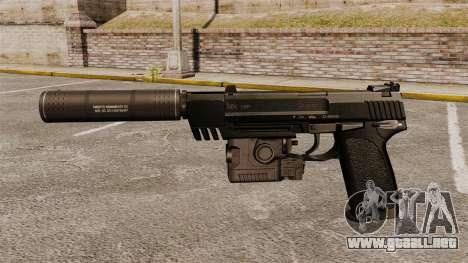 Pistola HK USP para GTA 4 tercera pantalla