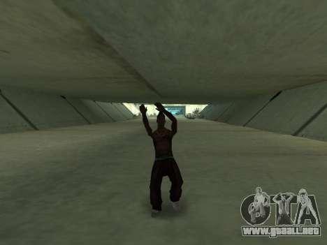Bailan para GTA San Andreas sexta pantalla