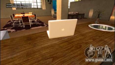 MacBook Air para GTA 4 segundos de pantalla