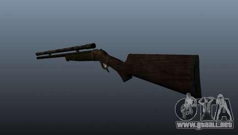 Rifle de francotirador Remington Rolling-Block para GTA 4 segundos de pantalla