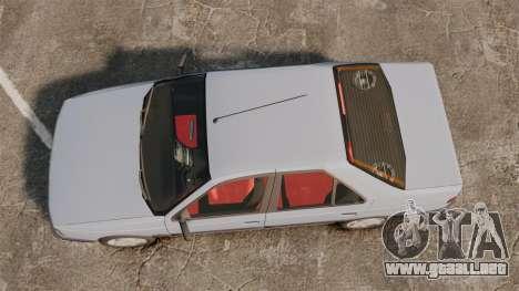 Peugeot 405 GLX Final para GTA 4 visión correcta