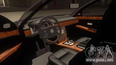 Volkswagen Passat 2.0 Turbo para visión interna GTA San Andreas
