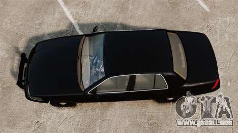 Ford Crown Victoria 2008 FBI para GTA 4 visión correcta