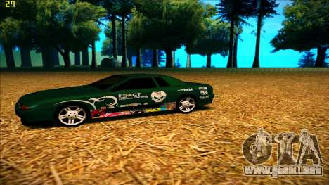 New paintjob for Elegy para GTA San Andreas segunda pantalla
