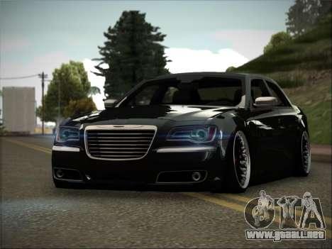 Chrysler 300C Stance para GTA San Andreas vista posterior izquierda