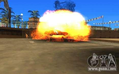 GTA V to SA: Realistic Effects v2.0 para GTA San Andreas quinta pantalla