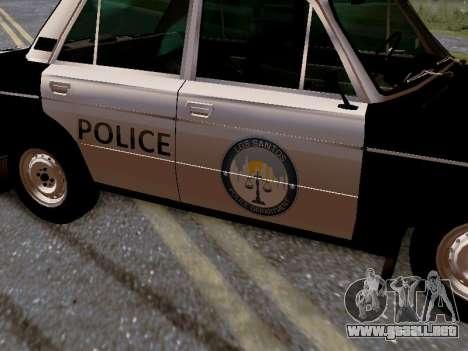 Policía de Los Santos 2106 VAZ para vista inferior GTA San Andreas
