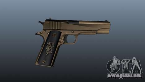 Pistola M1911 v2 para GTA 4 tercera pantalla