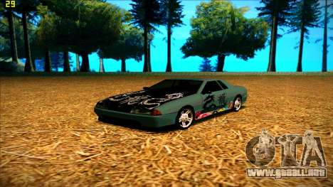 New paintjob for Elegy para GTA San Andreas tercera pantalla