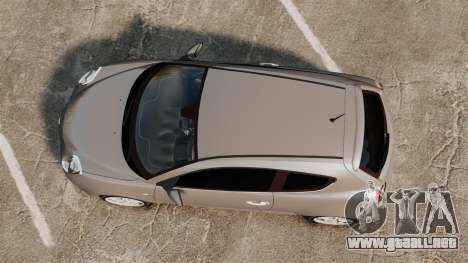 Alfa Romeo MiTo para GTA 4 visión correcta
