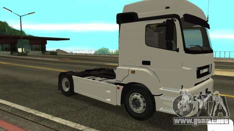 KAMAZ 5490 para GTA San Andreas left