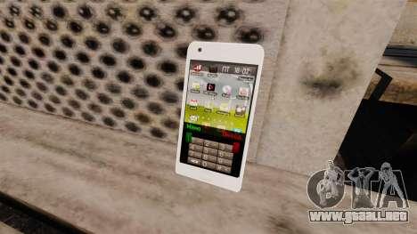 Teclado Samsung Galaxy S2 para GTA 4