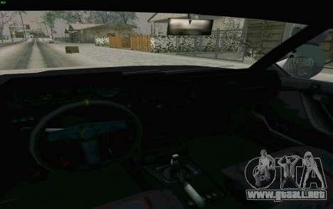 Blista Compact Type R para visión interna GTA San Andreas