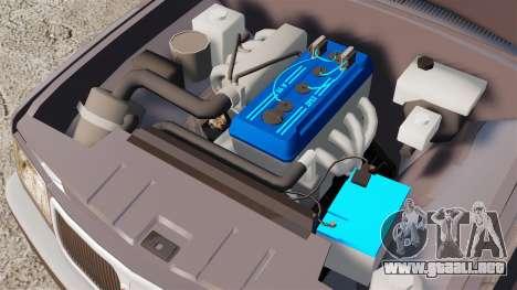 Volga GAZ-3110 para GTA 4 vista interior