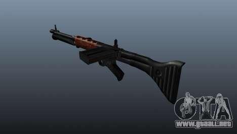 Fusil automático FG 42 para GTA 4 segundos de pantalla