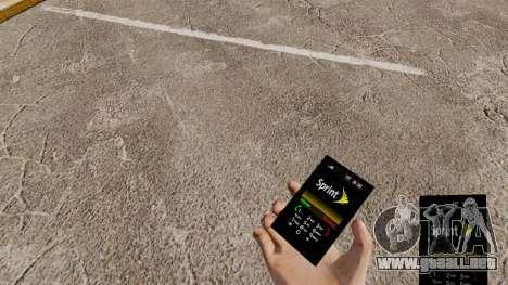 El tema para el teléfono Sprint para GTA 4