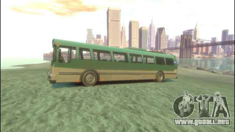 Bus de GTA 5 para GTA 4 left