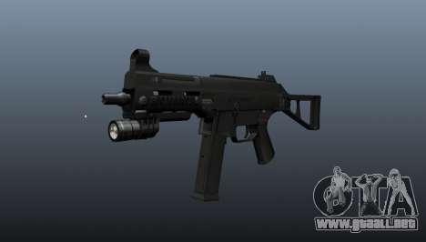 UMP45 subfusil ametrallador v2 para GTA 4