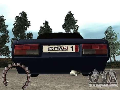 BPAN VAZ 2107 para visión interna GTA San Andreas