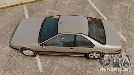 Fortuna con nuevos discos para GTA 4 Vista posterior izquierda