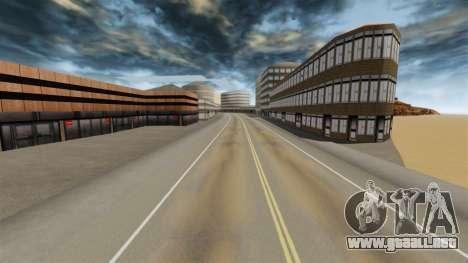 Destino ciudad desierta para GTA 4 adelante de pantalla