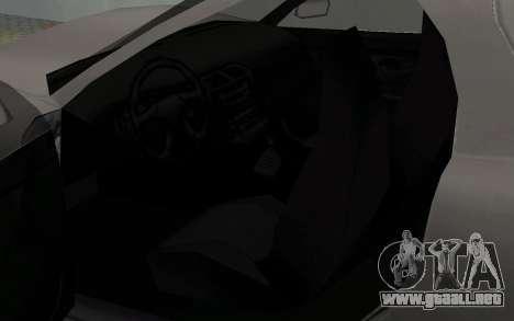 Líneas de conductor paralelas de la MX2000 para GTA San Andreas vista hacia atrás