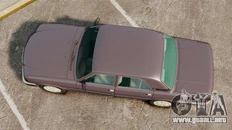 Volga GAZ-3110 para GTA 4 visión correcta