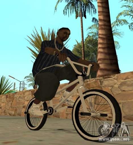 BMX para GTA San Andreas left