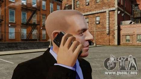 Comunicador ZTE Blade para GTA 4 adelante de pantalla