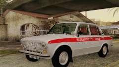 VAZ 21011 asistencia médica para GTA San Andreas