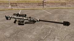 El francotirador Barrett M82 rifle v15 para GTA 4