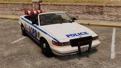 La versión convertible de la policía