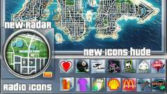 Map-Radar-HUD Pack para GTA 4