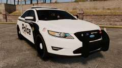 Ford Taurus Police Interceptor 2011 [ELS] para GTA 4