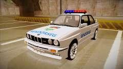 BMW M3 E30 Rendőrség