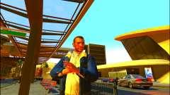 Pantalones vaqueros chaqueta Trevor de GTA V