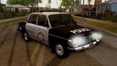 Policía de Los Santos 2106 VAZ para GTA San Andreas