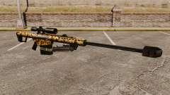 El v10 de rifle de francotirador Barrett M82 para GTA 4