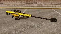 El v3 de rifle de francotirador Barrett M82 para GTA 4