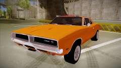 Dodge Charger 1969 (general lee) para GTA San Andreas