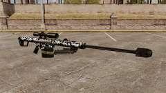 El v16 de rifle de francotirador Barrett M82