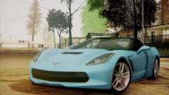 Chevrolet Corvette C7 Stingray 2014 para GTA San Andreas