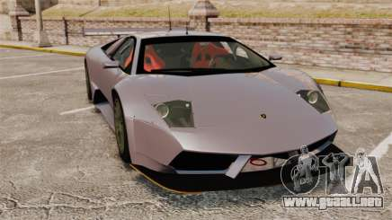 Lamborghini Murcielago RSV FIA GT1 v2.0 para GTA 4
