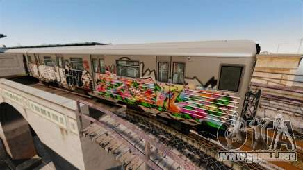Nuevo graffiti de metro para v3 para GTA 4