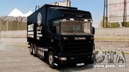 Nuevo camión SWAT para GTA 4
