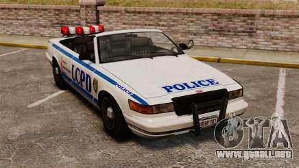 La versión convertible de la policía para GTA 4