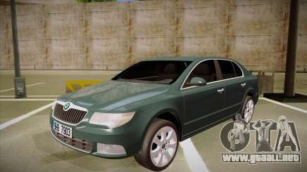 Skoda SuperB 2009 para GTA San Andreas