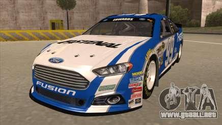 Ford Fusion NASCAR No. 99 Fastenal Aflac Subway para GTA San Andreas