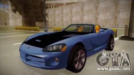 Dodge Viper v1 para GTA San Andreas
